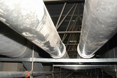长沙卷烟厂十五技改工程-消防管道安装